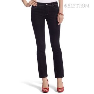 WHBM White House Black Market crop leg jeans